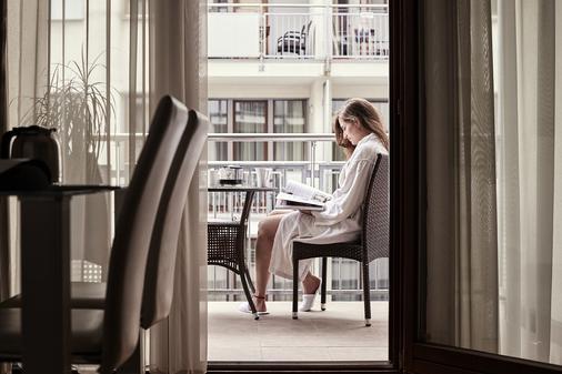 布达佩斯七季公寓酒店 - 布达佩斯 - 阳台