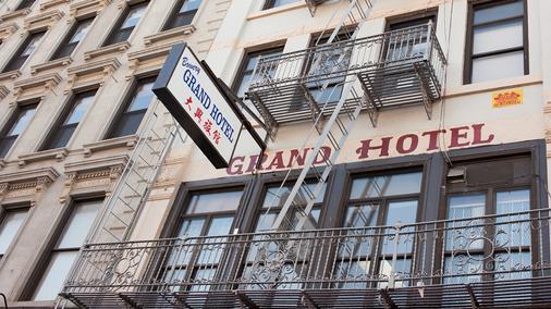 包伟利大酒店 - 纽约 - 建筑