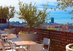多姆拉斯塔姆拉斯酒店 - 马德里 - 露天屋顶