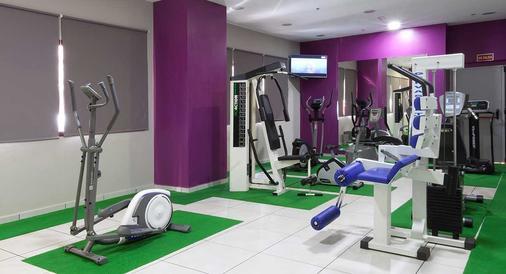 多姆拉斯塔姆拉斯酒店 - 马德里 - 健身房