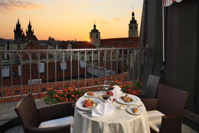 波西米亚大酒店 - 布拉格 - 阳台