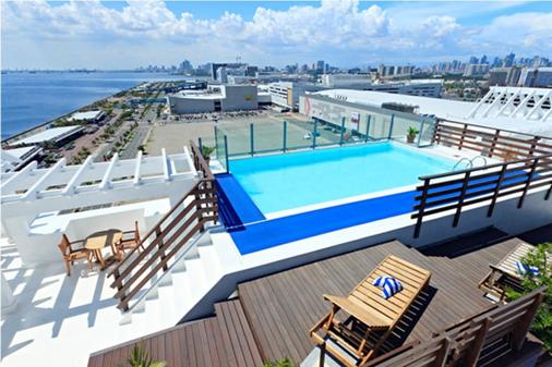 亚洲购物中心温德姆麦克罗特酒店 - Pasay - 游泳池