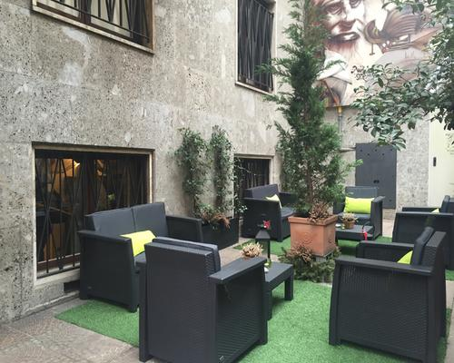 卡洛比欧酒店 - 米兰 - 露台