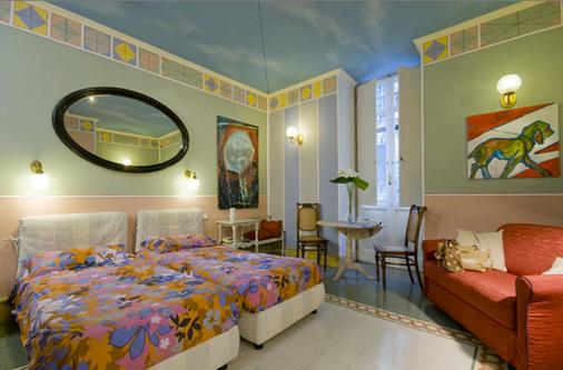 埃莫纳阿卡杜克图斯酒店 - 罗马 - 睡房