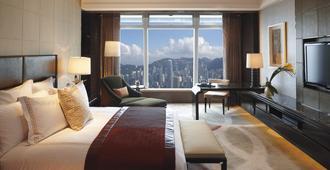 丽思卡尔顿酒店 - 香港 - 睡房