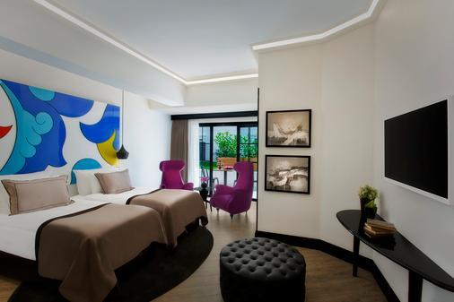 苏拉圣索菲亚大教堂酒店 - 伊斯坦布尔 - 睡房
