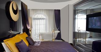 苏拉设计酒店及套房 - 伊斯坦布尔 - 睡房