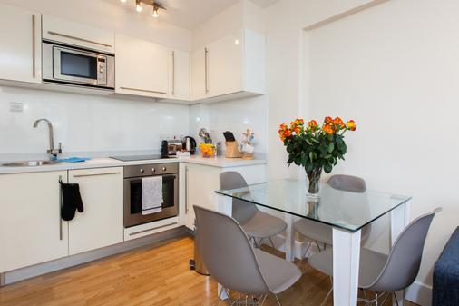 内尔格温切尔西公寓式酒店 - 伦敦 - 厨房