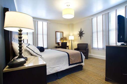 联合广场海军陆战队纪念俱乐部酒店 - 旧金山 - 睡房