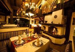 霍勒斯滕昂德家庭运动酒店 - 图克斯 - 餐馆