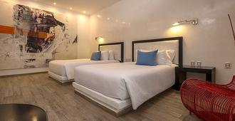 时尚精品酒店-限成人入住 - 卡门海滩 - 睡房