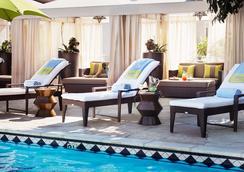 Sunset Marquis - West Hollywood - 游泳池