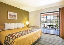 Ellis Island Hotel Super 8 Las Vegas - 拉斯维加斯 - 睡房