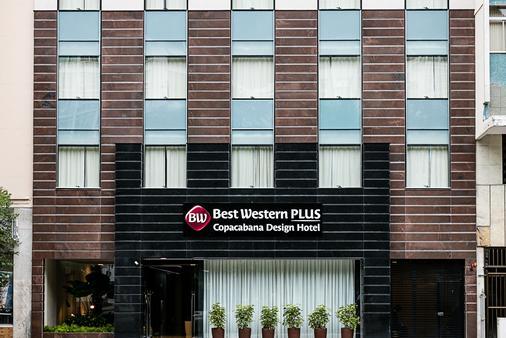 贝斯特韦斯特Plus科帕卡巴纳设计酒店 - 里约热内卢 - 建筑