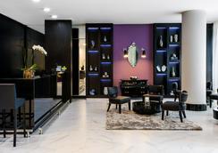 贝斯特韦斯特Plus科帕卡巴纳设计酒店 - 里约热内卢 - 大厅