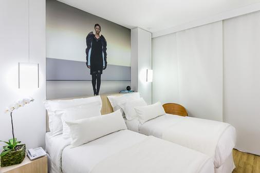 阿珀朵尔时尚贝斯特韦斯特premier酒店 - 里约热内卢 - 睡房