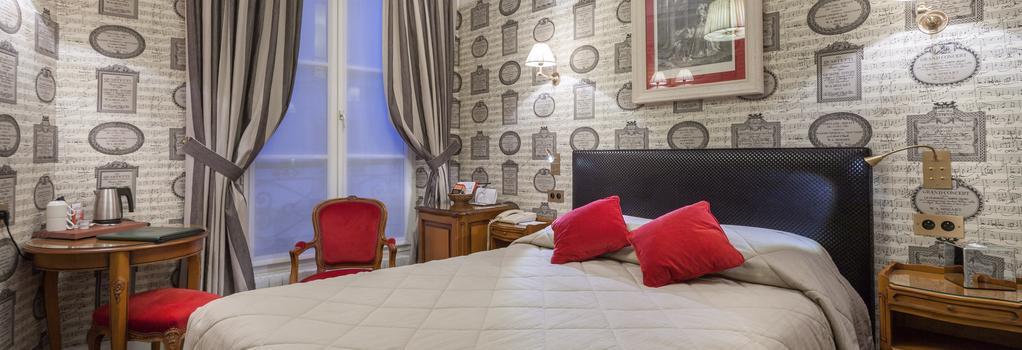 鲁尼沃圣日耳曼大酒店 - 巴黎 - 睡房