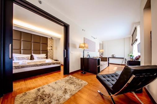 布达佩斯大陆酒店 - 布达佩斯 - 睡房