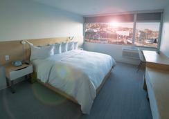 城市酒店 - 西雅图 - 睡房