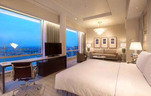 泗水jw万豪酒店 - 泗水 - 睡房