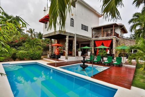 Hotel Buddha Villa - San Andrés - 游泳池