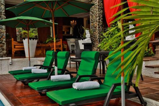 Hotel Buddha Villa - San Andrés - 露台