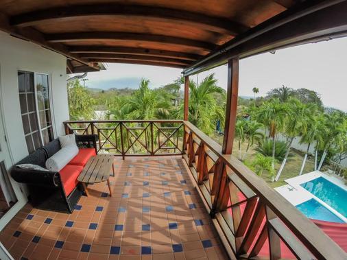 佛祖别墅酒店 - San Andrés - 阳台