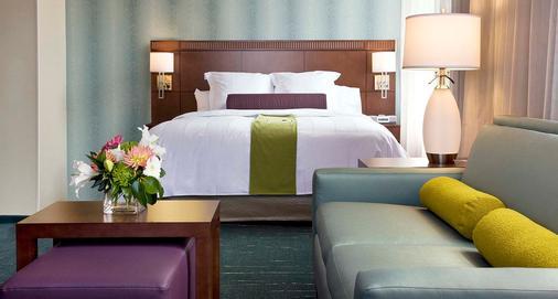 西雅图市中心/先锋广场万怡酒店 - 西雅图 - 睡房