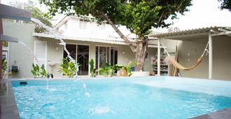 Hostal Tortugas B&B - 卡塔赫纳 - 游泳池