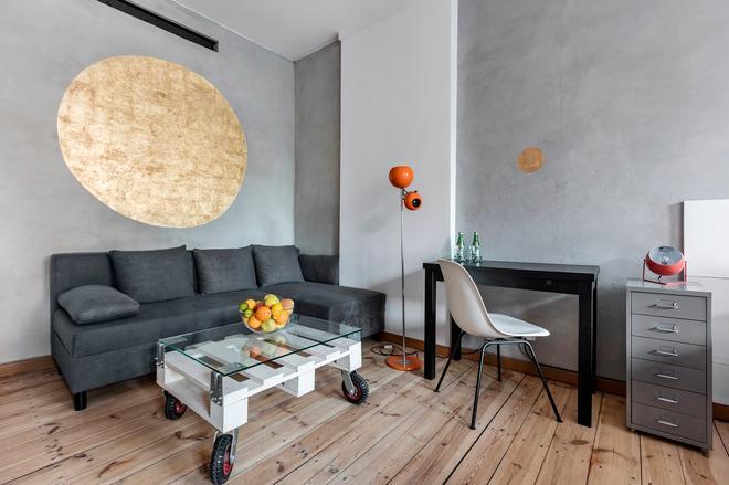 斯塔洛瓦 52 号艺术酒店 - 华沙 - 客厅