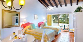 Villa del Mar Beach Resort & Spa Puerto Vallarta - 巴亚尔塔港 - 睡房