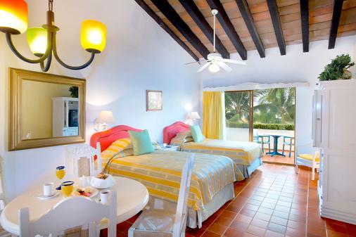 巴亚尔塔别墅滨海海滩度假村及水疗中心 - 巴亚尔塔港 - 睡房