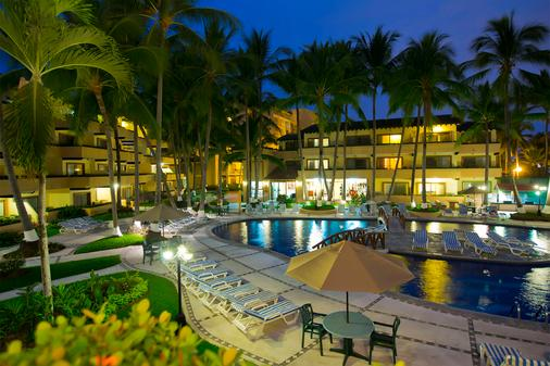 Villa del Mar Beach Resort & Spa Puerto Vallarta - 巴亚尔塔港 - 游泳池
