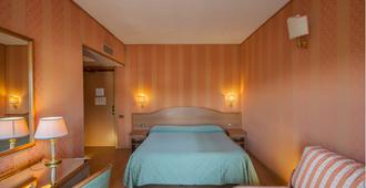 戴玛希米公园酒店 - 罗马 - 睡房