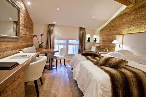 莱萨姆雷酒店 - 日内瓦 - 睡房