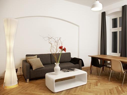 卡里托公寓式酒店 - 柏林 - 客厅