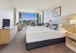 湾景公园酒店 - 墨尔本 - 睡房
