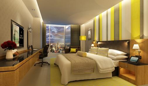 曼谷兰开斯特酒店 - 曼谷 - 睡房