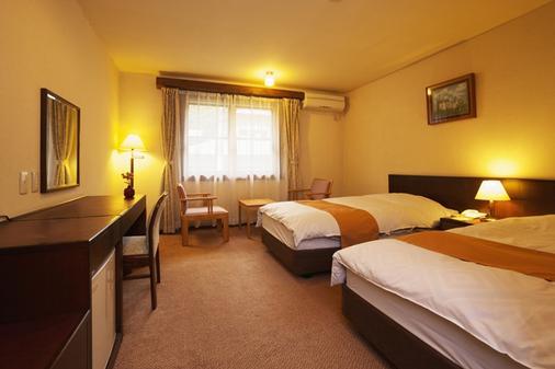 芦之湖 一之汤旅馆 - 箱根 - 睡房