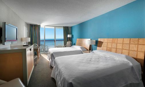 皇冠珊瑚礁海滩度假村及水上乐园 - 默特尔比奇 - 睡房