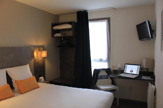 南特中心诺维拉站因特尔酒店 - 南特 - 睡房