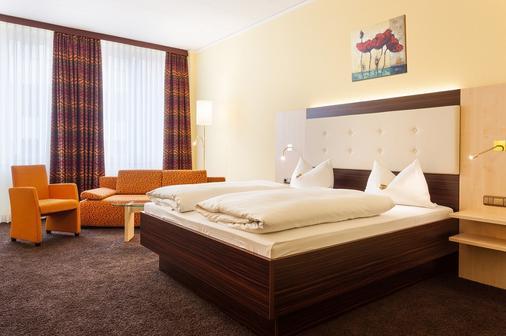 奥加斯塔酒店 - 奥格斯堡 - 睡房