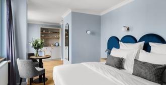 杜塞尔多夫诺瓦姆优质酒店 - 杜塞尔多夫 - 睡房