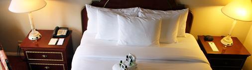哥伦比亚俱乐部酒店 - 印第安纳波利斯 - 睡房