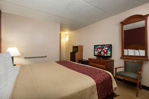 海滨棕榈酒店 - 加尔维斯敦 - 睡房