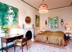 查马雷尔艺术精品酒店 - 德尼亚 - 睡房