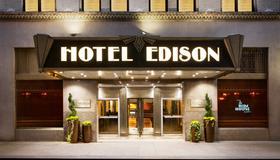 纽约市爱迪生酒店 - 纽约 - 建筑