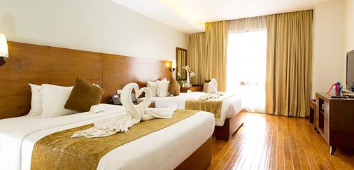 马尼拉阿曼达酒店 - 马尼拉 - 睡房