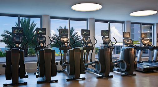 迈阿密海滩诺布酒店 - 迈阿密海滩 - 健身房