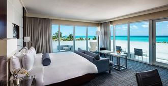 迈阿密海滩诺布酒店 - 迈阿密海滩 - 睡房